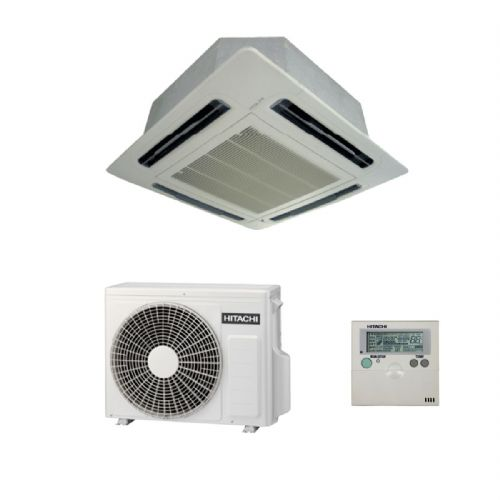 Hitachi Air Conditioning Utopia Premium Cassette RCI-2.5FSN3Ek Inverter Heat Pump 5.6Kw/18000Btu A+ 240V~50Hz